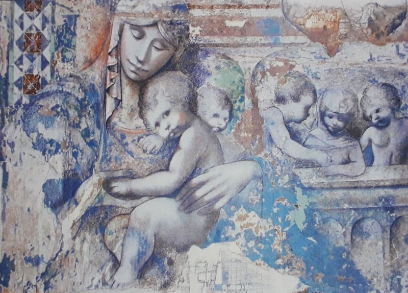 madonna-con-bambino-e-fanciulli-di-elvio-marchionni